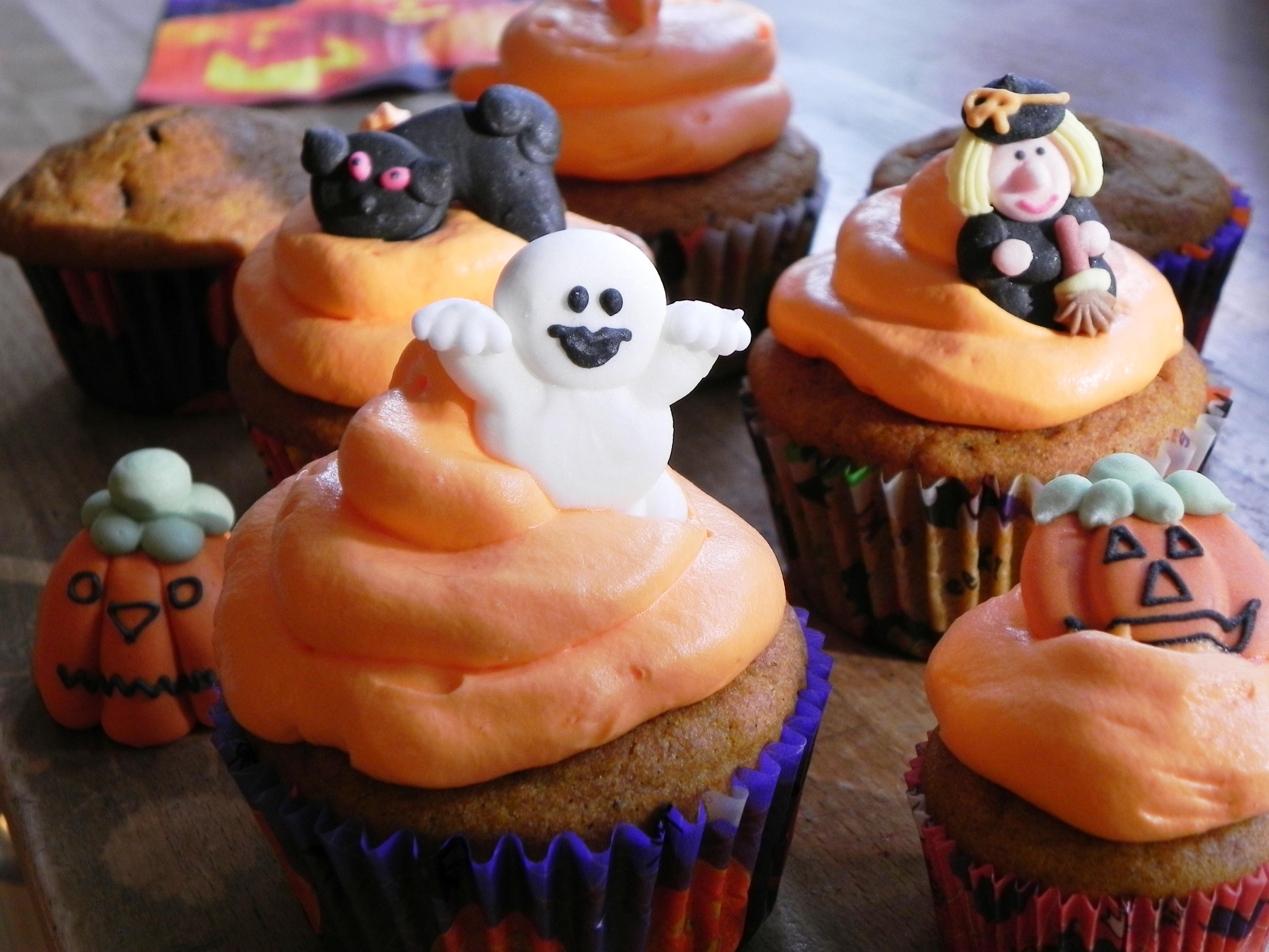 Fabelhaft Halloween Cupcakes Rezepte Referenz Von Kürbismuffin (2)
